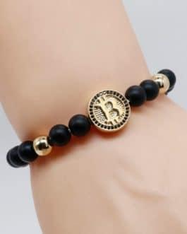 Bracelet Bitcoin pour homme, Idée cadeau