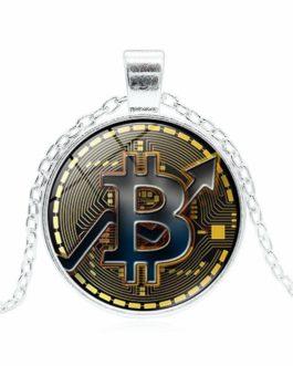 Collier produit Bitcoin pour homme et femme