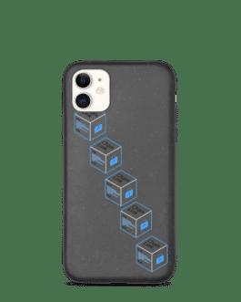 Coque de téléphone pour Iphone Link token biodégradable