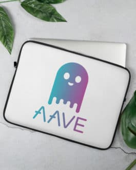 Housse Pour Laptop – Crypto Aave type Ghost