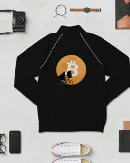 Veste Crypto en Molleton – Bitcoin Moon
