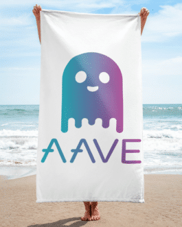 Serviette de Plage/ de Bain – Aave ghost