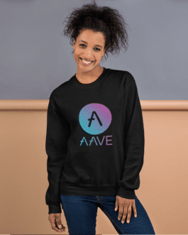 Sweat Crypto pour Femme – AAVE Logo