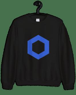 Sweat Crypto pour Femme – LINK Logo