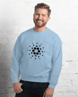 Sweat Crypto pour homme à Col Rond – CARDANO ADA