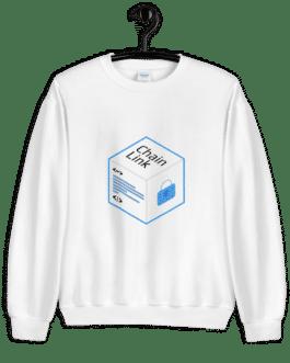 Sweat Crypto pour Femme- LINK Logo