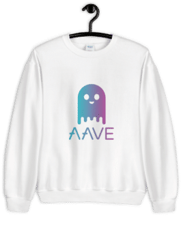Sweat Crypto pour Femme – AAVE Ghost