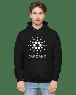 Sweat à capuche Crypto pour homme – ADA Cardano