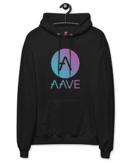 Sweat Crypto à capuche pour homme – AAVE Token