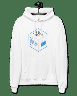 Sweat Crypto à capuche pour homme – LINK Logo