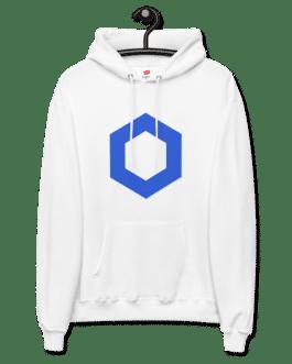 Sweat Crypto pour Femme à capuche polaire – LINK Logo