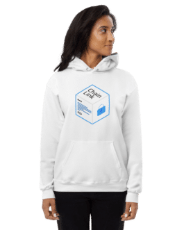 Sweat Crypto pour Femme à capuche polaire – LINK