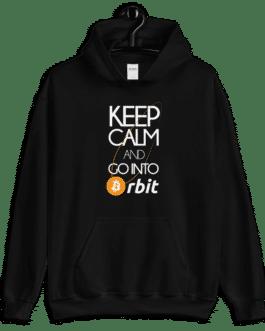 Sweat Crypto à capuche pour homme – Bitcoin Orbit