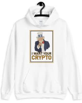 Sweat Crytpo à capuche – Uncle SAM I want