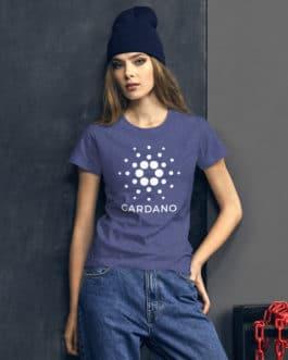 Tee-shirt Crypto Femme – ADA Cardano