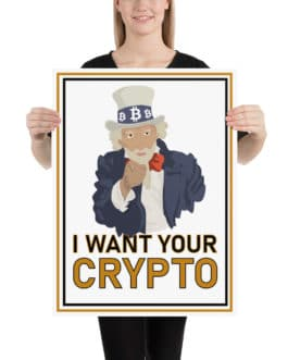 Affiche Crypto – UNCLE Sam