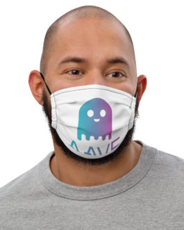 Crypto Premium face mask – Aave