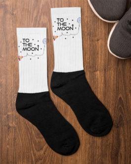 Crypto Socks – To The Moon