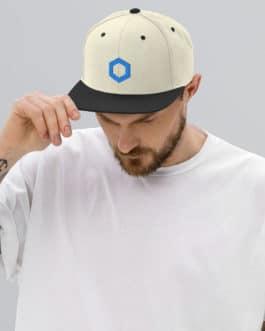 Crypto Snapback Hat – Link