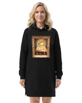 Crypto Hoodie dress – DOGE