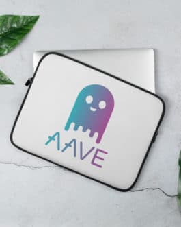 Crypto Laptop Sleeve – Aave