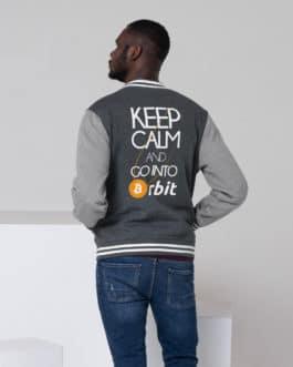 Crypto Men's Letterman Jacket – Bitcoin