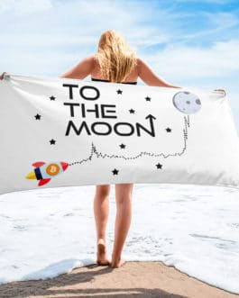 sublimated towel white 30x60 beach 609a80474eff7