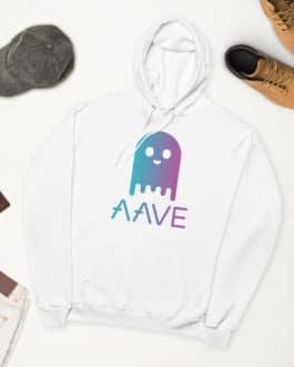 Crypto fleece hoodie – Aave