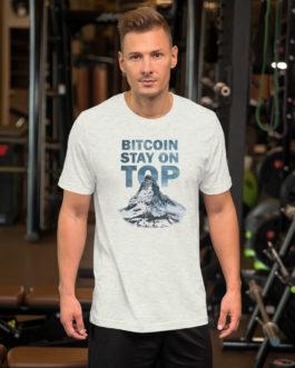 Crypto Short-Sleeve T-Shirt – Bitcoin Top