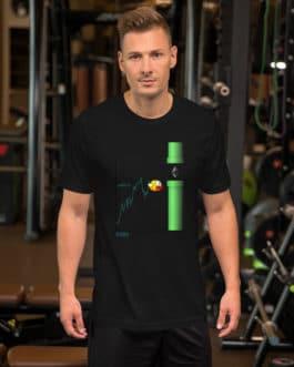 Crypto Short-Sleeve T-Shirt – ETH Bird