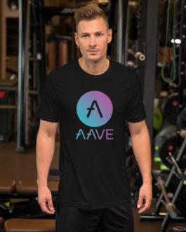 Crypto Short-Sleeve T-Shirt – aave