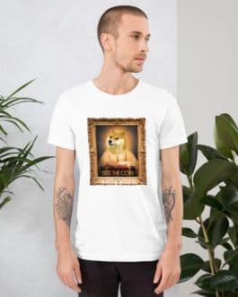 Crypto Short-Sleeve T-Shirt – DOGE