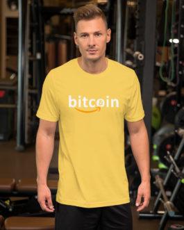 Crypto Short-Sleeve T-Shirt – Bitcoin
