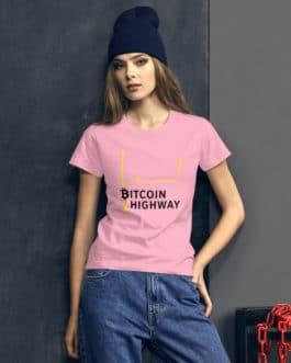 Crypto Women's short sleeve t-shirt –  Bitcoin Hightway