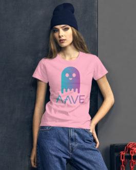 Crypto Women's short sleeve t-shirt – Aave
