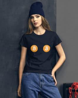 Crypto Women's short sleeve t-shirt – BTC