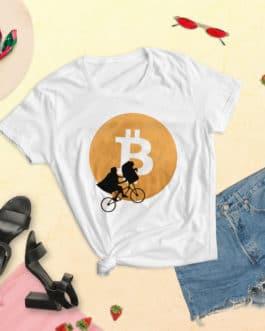 Crypto Women's short sleeve t-shirt – Bitcoin