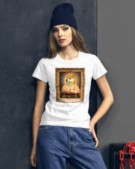 Crypto Women's short sleeve t-shirt – DOGE