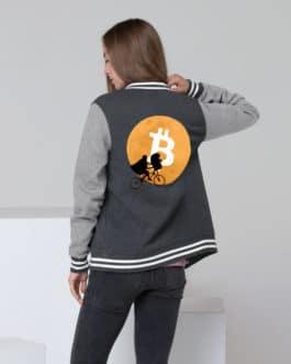 Crypto Women's Letterman Jacket – Bitcoin