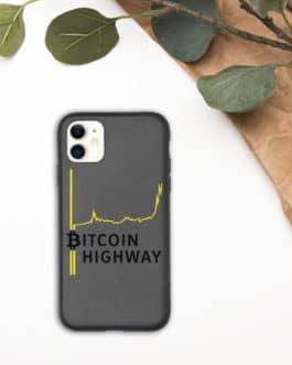 Coque de téléphone biodégradable Crypto – Hight Way