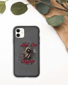 Coque de téléphone biodégradable Crypto – BET ON