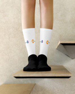 Chaussettes Crypto – Pac-Man