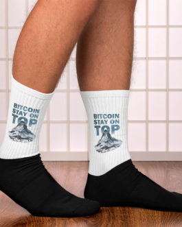 Chaussettes Crypto – BTC TOP