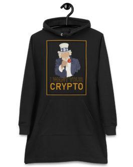 Robe à capuche Crypto – Uncle Sam