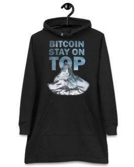 Robe à capuche Crypto – BTC TOP