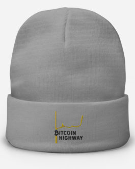 Bonnet brodé Crypto – Hight Way