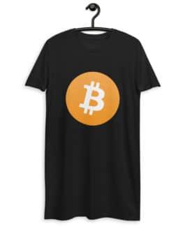 Robe t-shirt en coton bio Crypto – BTC