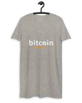 Robe t-shirt en coton bio Crypto – Bitzon