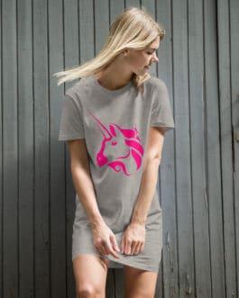 Robe t-shirt en coton bio Crypto – Uniswap