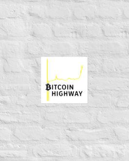 Affiche sur Papier Photo Crypto – Hight Way
